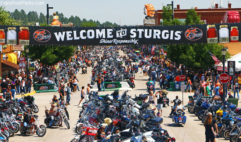 Sturgis Motorcycle Rally, Black Hills of South Dakota