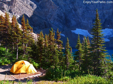 Alderson Lake Campground, Carthew-Alderson Trail, Waterton Lakes National Park