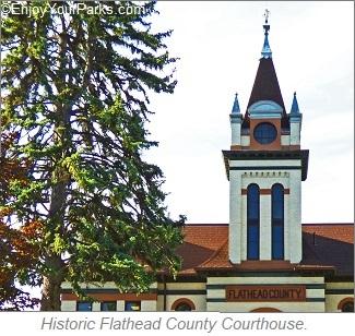 Flathead County Courthouse, Kalispell Montana