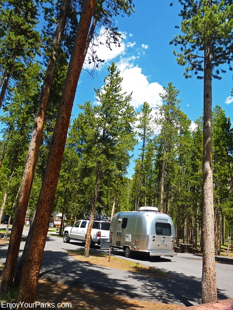 Madison Campground, Yellowstone National Park