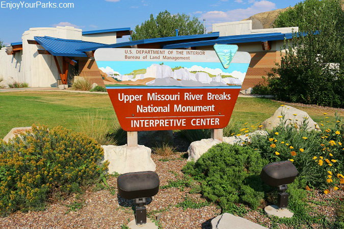 Upper Missouri River Breaks National Monument Interpretive Center, Fort Benton Montana