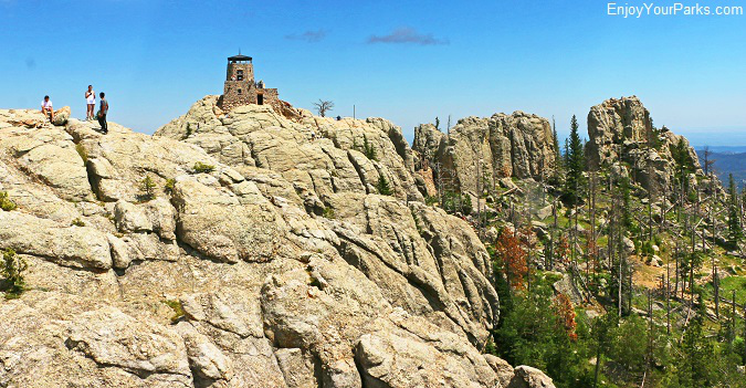 Harney Peak in the Black Hills of South Dakota