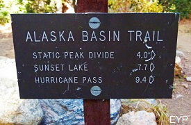 Alaska Basin Trail, Grand Teton National Park