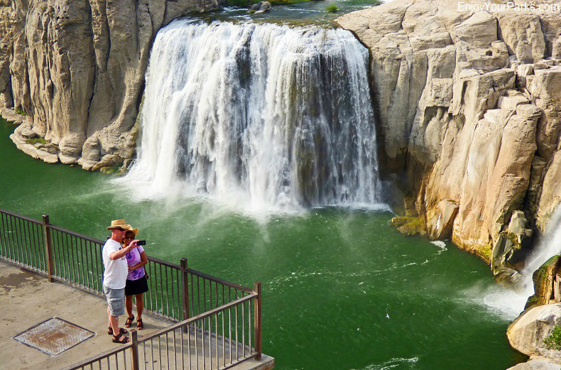 Shoshone Falls in Twin Falls Idaho