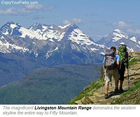 Livingston Mountain Range, Highline Trail, Glacier Park