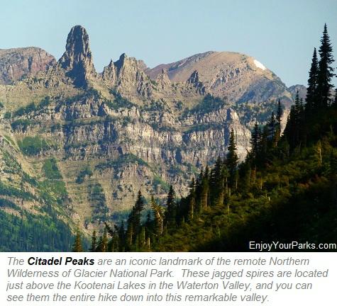 Citadel Peaks, Glacier Park
