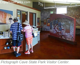 Pictograph Cave State Park Visitor Center