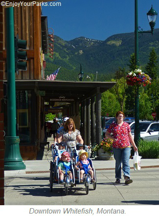 Downtown Whitefish Montana