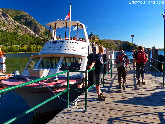 Miss Waterton, Crypt Lake Trail, Waterton Lakes National Park