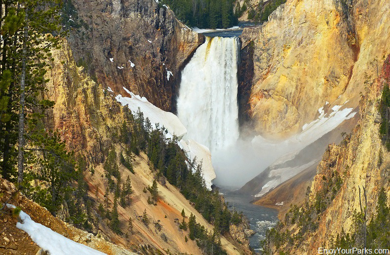 Lower Falls, Grand Canyon of the Yellowstone, Yellowstone National Park Montana