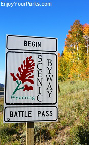 Battle Pass Scenic Byway Wyoming