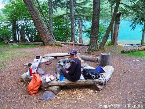Bowman Lake Campground (Head), Glacier National Park