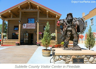 Sublette County Visitor Center, Pinedale Wyoming