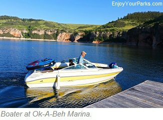OK-A-Beh Marina, Bighorn Canyon National Recreation Area