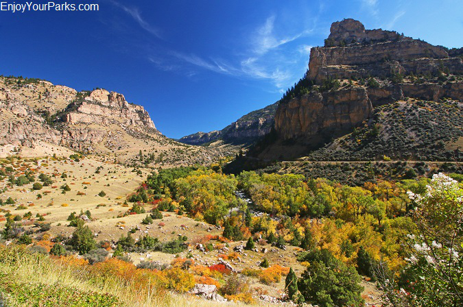 Ten Sleep Canyon, Cloud Peak Skway Scenic Byway, Wyoming
