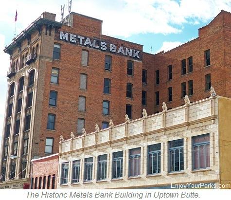 Historic Metals Bank Building, Butte Montana