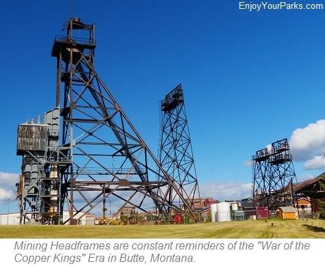 Mining Headframe, Butte National Historic Landmark District, Butte Montana