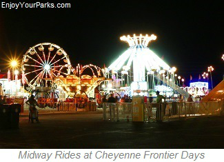 Midway Rides at Cheyenne Frontier Days