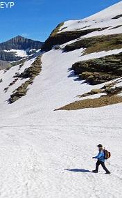 Boulder Glacier, Boulder Pass Trail, Glacier National Park