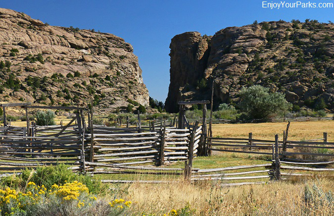 Devil's Gate Historic Site near the Mormon Handcart Historic Site, Wyoming