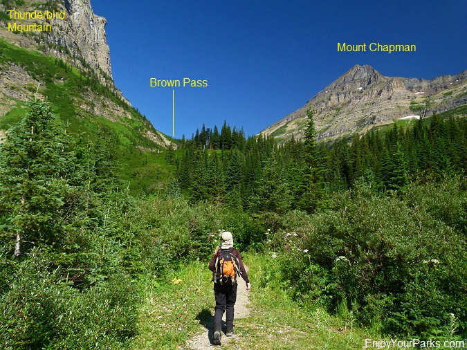 Olson Creek Headwall, Glacier Park
