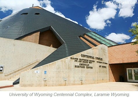 University of Wyoming Centennial Complex, Laramie Wyoming