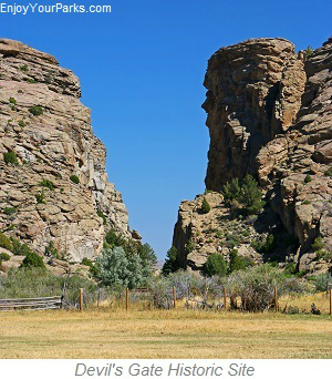 Devil's Gate Historic Site, Wyoming