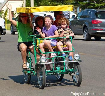 Quadracycle, Waterton Park Townsite, Waterton Lakes National Park