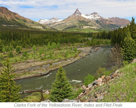 Clarks Fork of the Yellowstone River, Pilot and Index Peaks, Wyoming