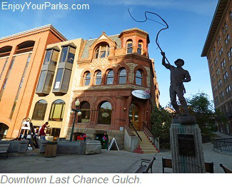 Helena Historic District, Last Chance Gulch
