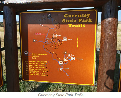 Guernsey State Park Trail System