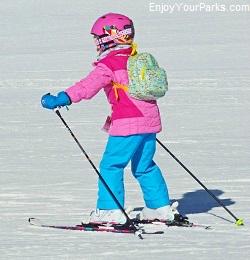 Young Skier, Big Sky Resort Montana