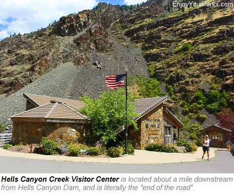 Hells Canyon Creek Visitor Center, Hells Canyon National Recreation Area, Idaho