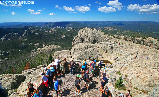 HarneyPeak Lookout Tower, South Dakota