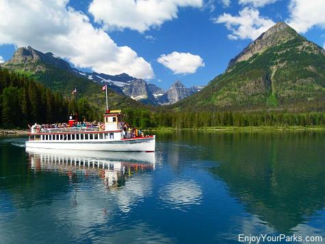 Waterton Lake Boat Tour, Waterton Lakes National Park