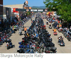 Sturgis Motorcycle Rally, South Dakota