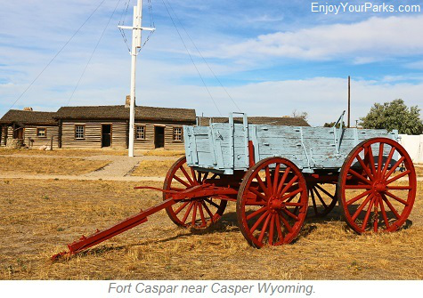 Fort Capsar Historic Site, Casper Wyoming