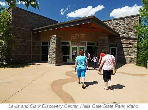 Lewis and Clark Discovery Center, Hells Gate State Park, Lewiston Idaho