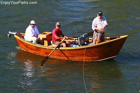 Driftboat fishermen, Salmon River Idaho