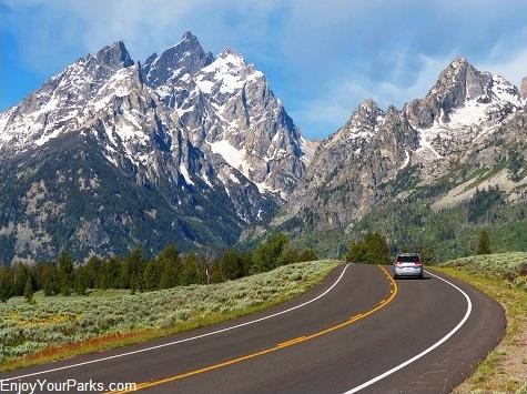 Teton Park Road, Grand Teton National Park, Wyoming