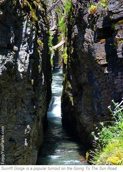 Sunrift Gorge, Siyeh Pass Trail, Glacier National Park