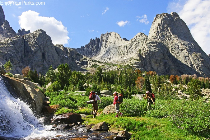 Wind River Mountain Range, Wyoming