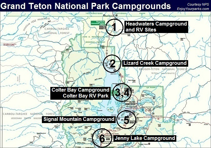 Grand Teton National Park Campgrounds, Grand Teton National Park