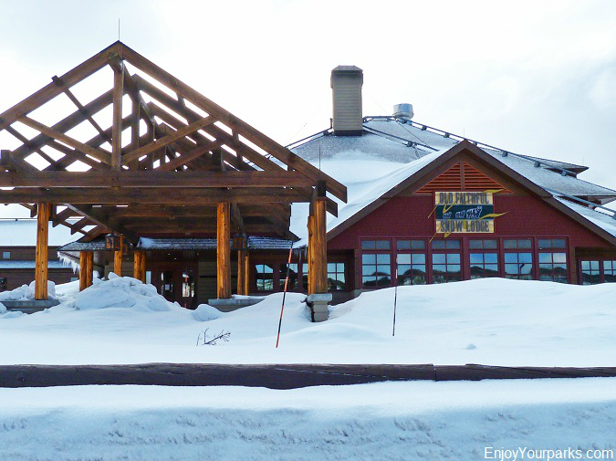 Old Faithful Snow Lodge, Winter in Yellowstone Park