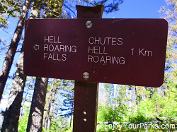Hellroaring Falls, Crypt Lake Trail, Waterton Lakes National Park