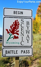 Battle Pass Scenic Byway, Wyoming