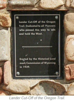 Lander Cut-Off of the Oregon Trail, Star Valley Scenic Byway, Wyoming