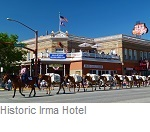 Historic Irma Hotel, Cody Wyoming