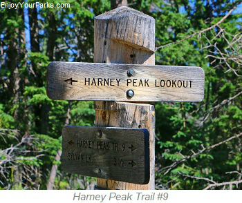 Harney Peak Trail Number 9, South Dakota