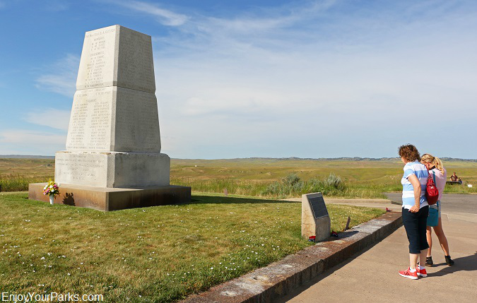 U.S. Army Memorial, Little Bighorn Battlefield National Monument, Montana